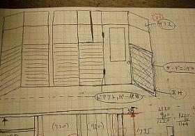 風除室のイメージ図