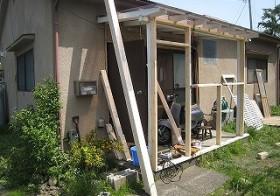 風除室の枠組み