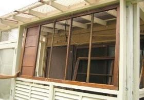 風除室 窓枠 ⑥