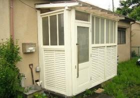 風除室 インテリアの設置 1