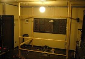 ベッドルーム・骨組み組み立て 6