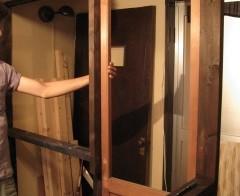 ベッドルーム・ドア枠のサイズ直し 10