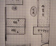 彼の部屋 1