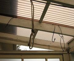 風除室 インテリアの設置 2