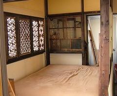 ベッドルーム・左側の壁面 1