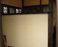 ベッドルーム・左側の壁面 2