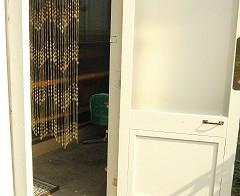 風除室 インテリアの設置 5