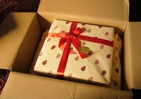 叔母からのプレゼント