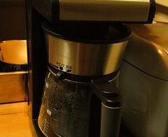 コーヒーメーカーの設置