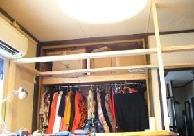 彼女部屋 天井収納作り 3