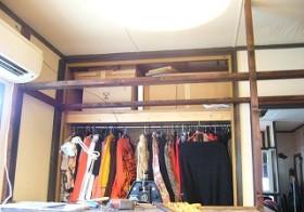 彼女部屋 天井収納作り 4