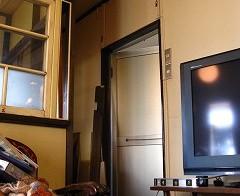 リビング ドア設置 2