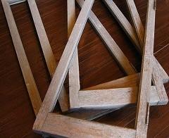 玄関の下駄箱作り 1