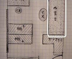 彼部屋 作業台1