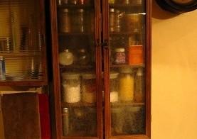 我が家の調味料棚