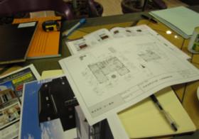 窓の大きさ決定と新築見学