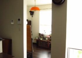 彼女部屋アンティーク扉の設置7