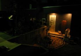玄関アプローチ4 ソーラーライト設置