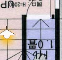 トイレ計画図と、とりあえずの改装1