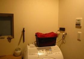 洗面スペースとりあえずの改装4