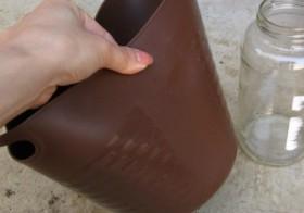 自作 コンクリ花瓶