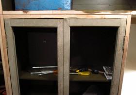玄関改装本番34 下駄箱設置7