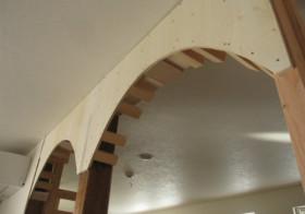 アーチ形の壁7