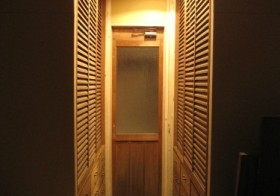 クローゼット廊下計画33 ドア装飾