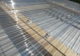簡易屋根設置2