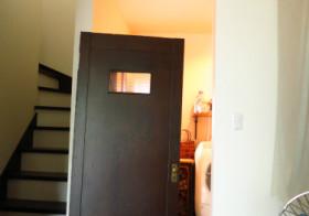 洗面所22 ドア設置1