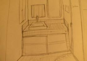 洗面所1 解体と妄想と計画と頂き物