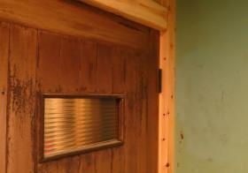 洗面所61 ドア設置6
