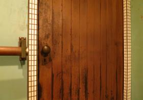 洗面所62 ドア設置7