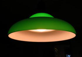 洗濯機側の照明2