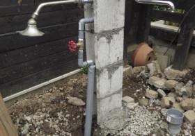 南側の庭9 水栓2