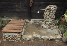 南側の庭14 水栓6