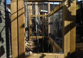南側の庭22 パーゴラ&犬柵5