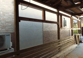 小屋造作り26 外壁1